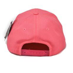 Ljusrosa rosa snapback svart skärm barn keps State of wow