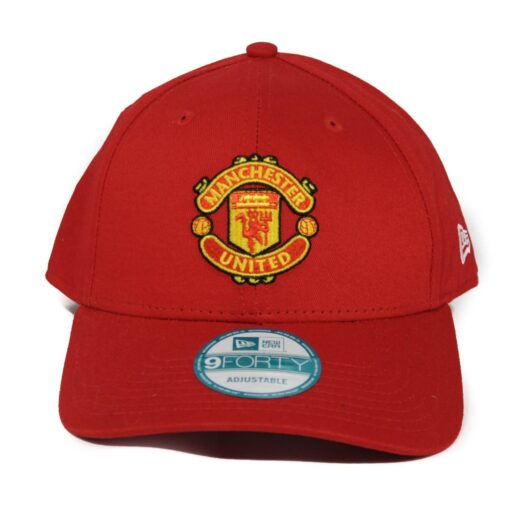 Manchester United new era keps justerbar röd