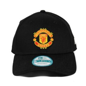 Manchester United New Era strapback keps svart Basic