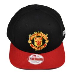 New Era Manchester United Röd/svart snapback keps