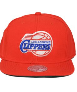 LA Clippers röd NBA snapback kepsar