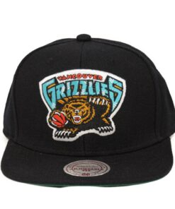 Vancouver Grizzlies NBA kepsar snapback svart mitchell and ness