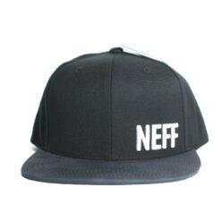 Neff Daily Pattern cap svart snapback keps