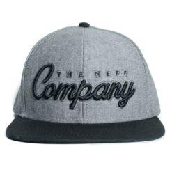 The Company Neff keps snapback grå melerad