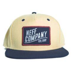 Neff station 2 cap gul mörkblå keps snapback