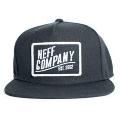 Neff station 2 cap svart snapback keps
