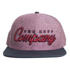 The Company Neff keps snapback röd melerad