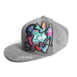 Neff Lamecation Cap strapback keps grå