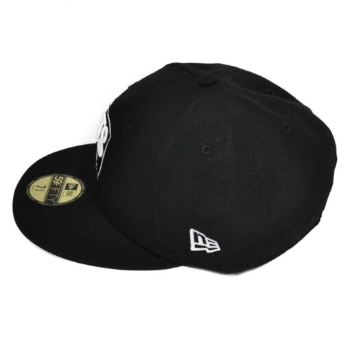 New Era Keps Brooklyn Nets NBA svart fitted