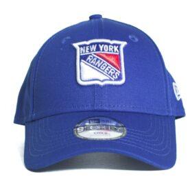 New Era New York Rangers NHL blå barnkeps böjd skärm