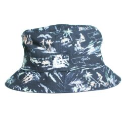 New Era Bucket hatt offshore svart