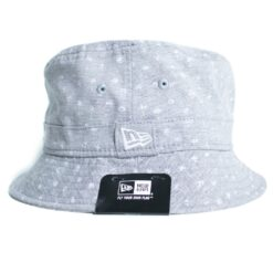 Micro Palm New Era Bucket hatt grå