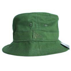 New Era Essential bucket militärgrön hatt sommar hatt