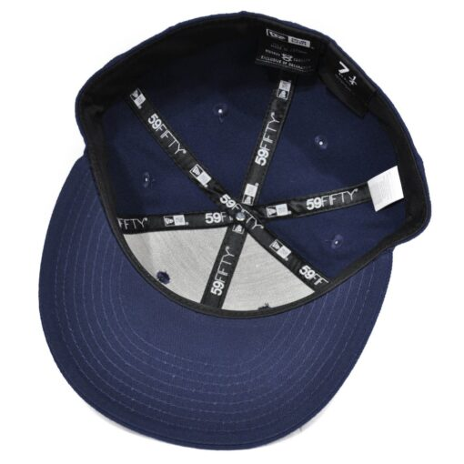 New Era NE Flag 5950 mörkblå fitted keps