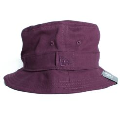 Essential  New Era bucket plommon hatt