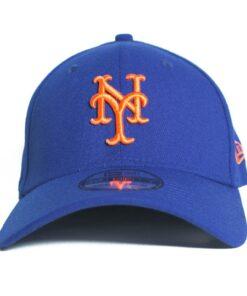 New Era New york mets blå flexfit keps