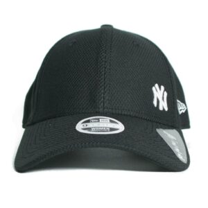 New Era Diamond New York svart tjejkeps böjd skärm