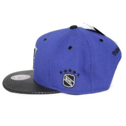New York Rangers Snapback blå svart mitchell and ness NHL