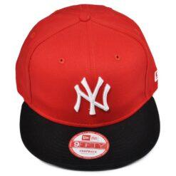 Snapback keps röd/svart New Era NY