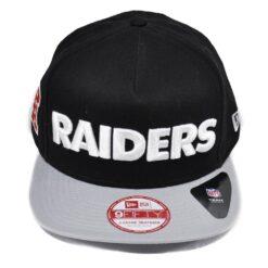 New Era snapback keps Svart/grå Raiders