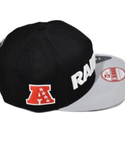 New Era snapback keps Svart/grå Raiders