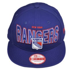 Keps Snapback New York Rangers New Era blå