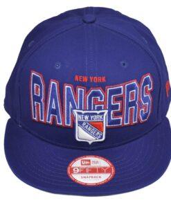 Keps Snapback New York Rangers New Era blå