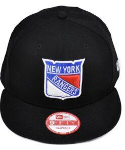 New Era New York Rangers Svart keps snapback