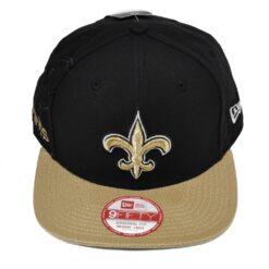 New Orleans Saints new era snapback keps svart
