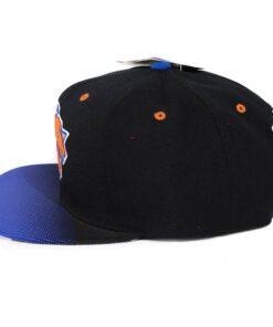 Snapback Mitchell and ness svart/blå New York Knicks