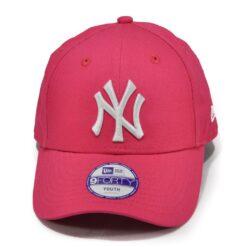 ungdomskeps new era new york rosa strapback