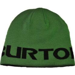 Burton - Boys' Billboard Beanie - Grön/svart vändbar mössa