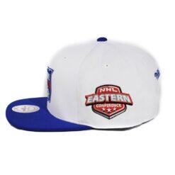 New York Rangers Vit/blå snapback mitchell and ness