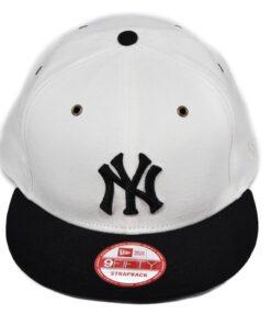 Strapback keps New York Yankees vit/svart new era