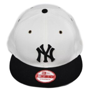 Strapback keps New York Yankees vit/svart new era