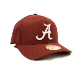Mitchell & Ness NCAA Pin Logo - Alabama - Burgundy