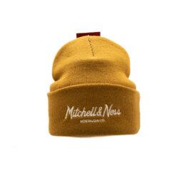 Mitchell & Ness Mössa Pinscript Cuff Knit - Own Brand - Tan