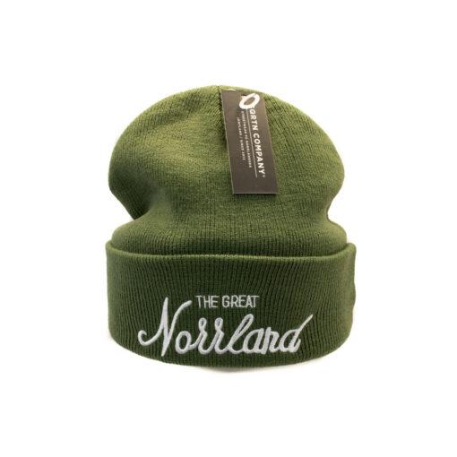 Great norrland mössa mossgrön