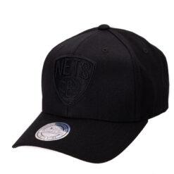 Mitchell & Ness Brooklyn Nets Logo - Svart