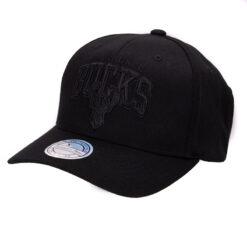 Mitchell & Ness Keps BONB - Milwaukee Bucks - Svart