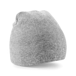 Beechfield - Beanie Knitted Hat - Grå