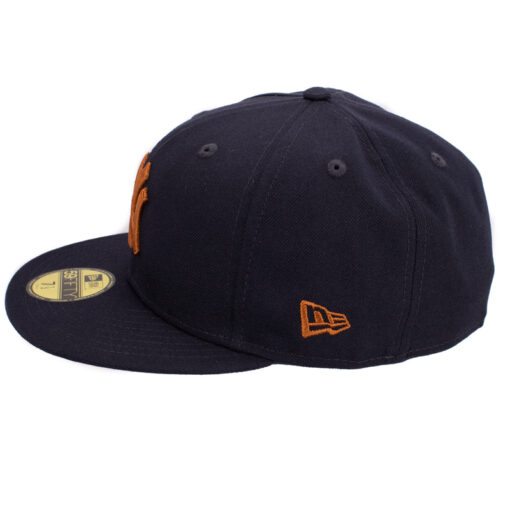 New era New york yankees marinblå fitted keps