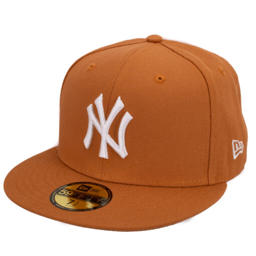 New era New york yankees orangebrun fitted keps