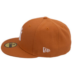 New era New york yankees orangebrun fitted keps