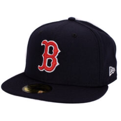 New Era – Boston Red Sox – Marinblå 59Fifty Fitted keps
