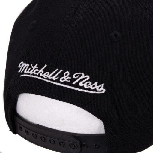 Mitchell & Ness Pinscript svart keps