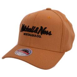 Mitchell & Ness Pinscript orangebrun keps