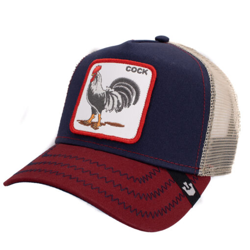 Goorin Bros All american rooster marinblå keps