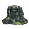 SQRTN Animal Camo grön bucket