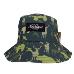 SQRTN Animal Camo grön bucket